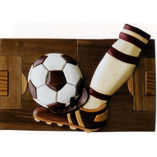 View a Larger Image of Soccer Intarsia Pattern