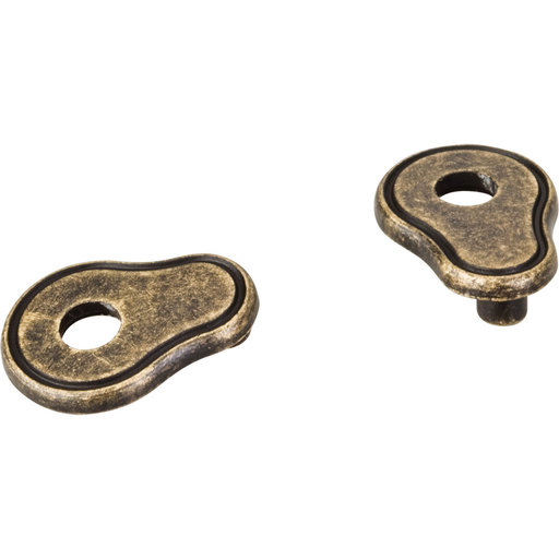 View a Larger Image of Pull Escutcheon for use with 317-96 737-96 MO6273 and 109  Distressed Antique Brass