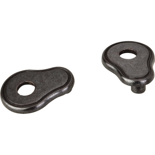 View a Larger Image of Pull Escutcheon for use with 317-96 737-96 MO6273 and 109  Gun Metal