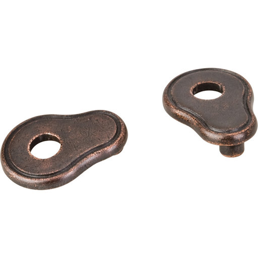 View a Larger Image of Pull Escutcheon for use with 317-96 737-96 MO6273 and 109  Distressed Oil Rubbed Bronze