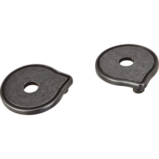 View a Larger Image of Pull Escutcheon for use with 527  Gun Metal