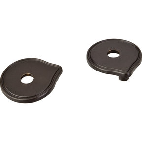 Pull Escutcheon for use with 527  Brushed Oil Rubbed Bronze