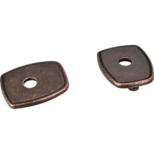 View a Larger Image of Pull Escutcheon for use with MO6373   Gun Metal