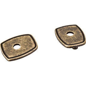 Pull Escutcheon for use with MO6373    Distressed Antique Brass
