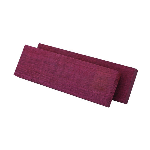 "View a Larger Image of Purpleheart, Figured 3/8"" x 1-1/2"" x 5"" Knife Scale, 2-piece"