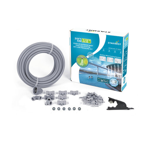 "View a Larger Image of Push-In Mist Cooling Kit, 20 ft., 3/8"", #383006"