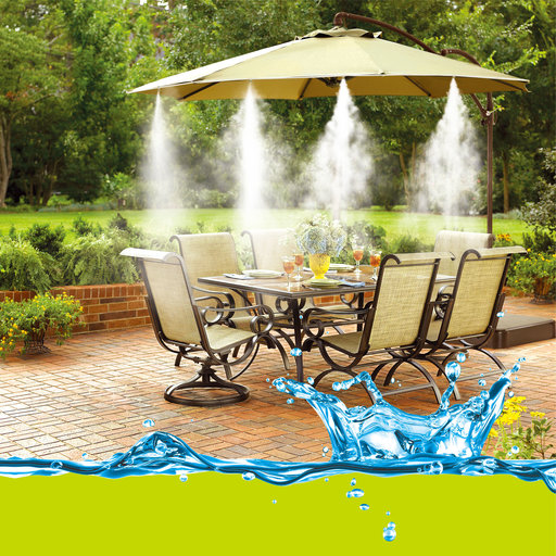 """View a Larger Image of Push-In Mist Cooling Kit, 30 ft., 3/8"""", #383009"""