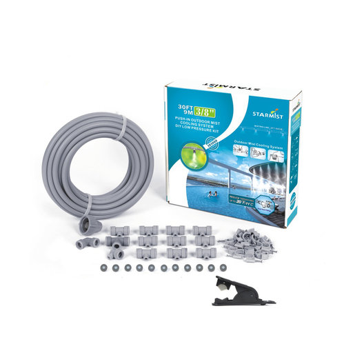"View a Larger Image of Push-In Mist Cooling Kit, 30 ft., 3/8"", #383009"