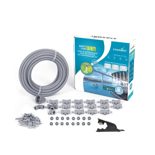 "View a Larger Image of Push-In Mist Cooling Kit, 40 ft., 3/8"", #383012"