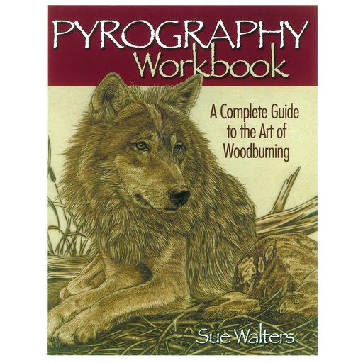 View a Larger Image of Pyrography Workbook