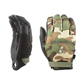 Q Series Gloves, Camo, Medium