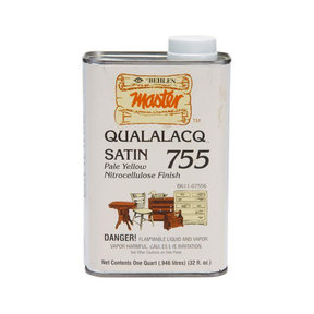 Qualalacq Lacquer, Satin, Quart