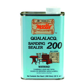 Qualalacq Sanding Sealer, Quart