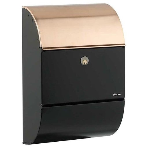 View a Larger Image of Allux 3000 Mailbox, Black and Copper