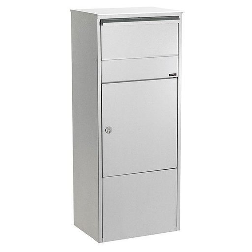View a Larger Image of Allux 800 Mail/Parcel Box, Gray