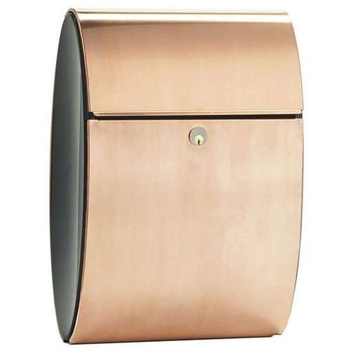 View a Larger Image of Allux Ellipse Mailbox, Copper
