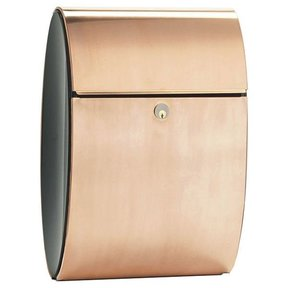 Allux Ellipse Mailbox, Copper