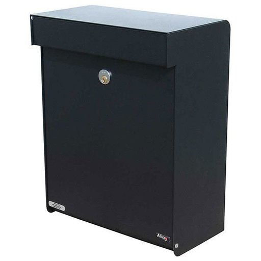 View a Larger Image of Allux Grandform Mailbox, Black