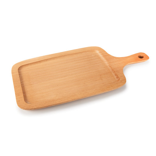 """View a Larger Image of Quality German Beech Bread Board/Cutting Board with Groove 13"""" x 8"""" x 5/8"""""""