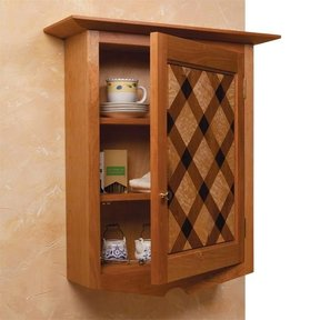 Quilt-Front Wall Cabinet - Downloadable Plan
