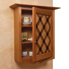 Quilt-Front Wall Cabinet - Paper Plan