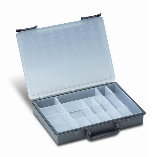 View a Larger Image of Rack-Systainer IV Rack-Box  Anthracite