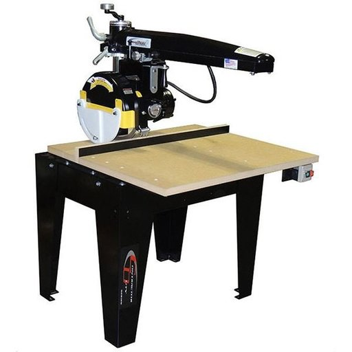"View a Larger Image of Radial Arm Saw with 12"" Blade and 24"" Crosscut,  3HP 1 Phase 208/230V"