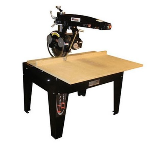 "View a Larger Image of Radial Arm Saw with 14"" Blade and 24"" Crosscut,  5HP 3 Phase 460V"
