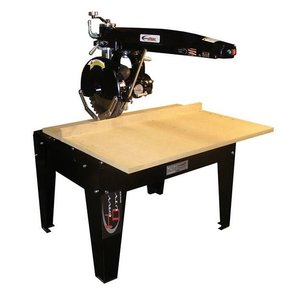"Radial Arm Saw with 16"" Blade and 24"" Crosscut,  5HP 3 Phase 208/230V"