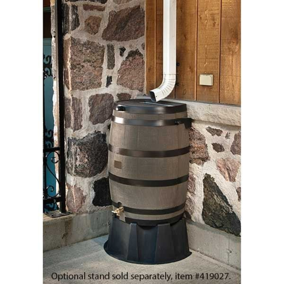 Rts Home Accents Rain Barrel With