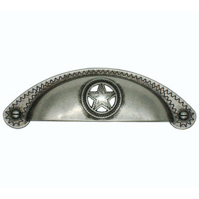 Raised Star Cup Pull, Nickel Oxide