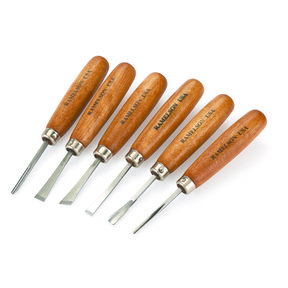 Beginner's Micro Carving Set, 6 Piece