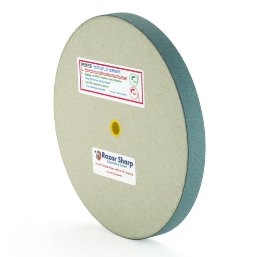 "View a Larger Image of Razor Sharp Edgemaking 8"" Grit Wheel"