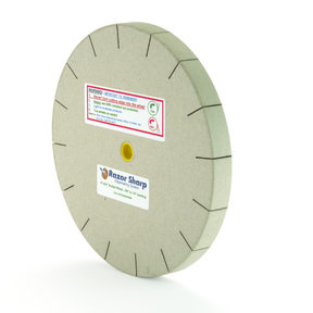 Razor Sharp Edgemaking 8in Slotted Polishing Wheel