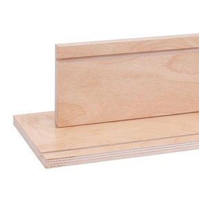 "Ready-To-Use Birch Drawer Sides with Clear UV Finish 2-1/2"" x 60"""