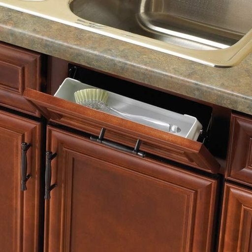 "View a Larger Image of Real Solutions 14"" Wide Sink Front Tray"