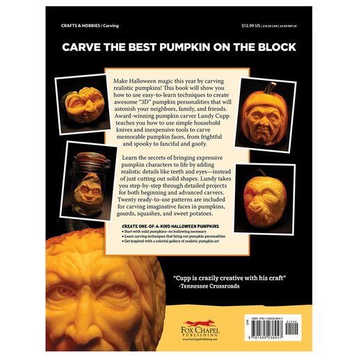 View a Larger Image of Realistic Pumpkin Carving