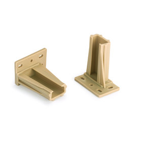 Rear Mounting Sockets for KV 1805 Slides, pair