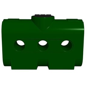Rectangular Harvest Tank ONLY, 214 gallon, Green