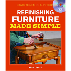 Refinishing Furniture Made Simple, Book with DVD