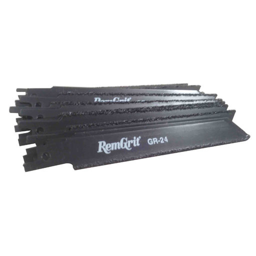 "View a Larger Image of Remgrit Carbide Grit Reciprocating Saw Blade, 6"", 50-Pack"
