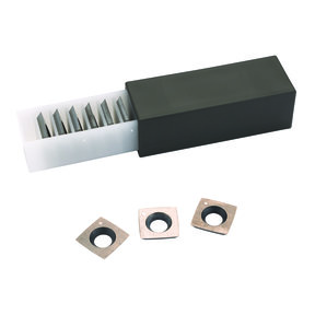 Replacement Carbide Inserts for Byrd Shelix Cutterheads - 10 Pack