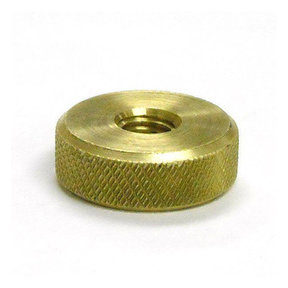 Replacement Knurled Brass Nut
