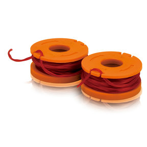 Replacement spools w/line, 2 pc. retail pk.