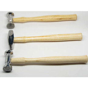 Repousse Hammers 3pc Set Double Sided