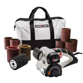 Restorer Handheld Drum Sander with Attachments
