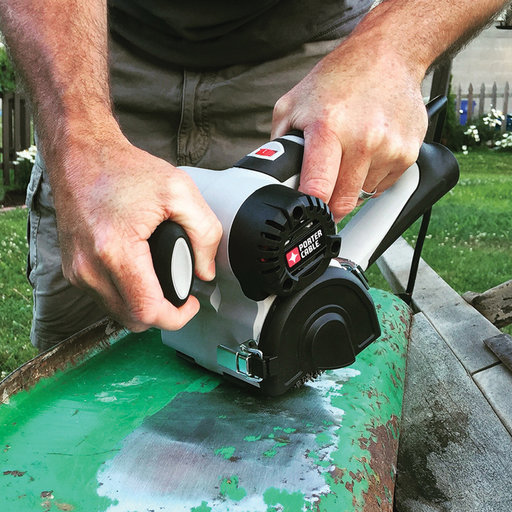 View a Larger Image of Restorer Handheld Drum Sander with Attachments