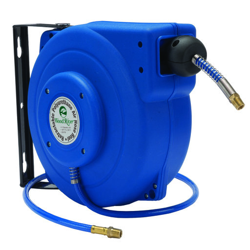 View a Larger Image of Retractable 39' Polyurethane Air Hose Reel