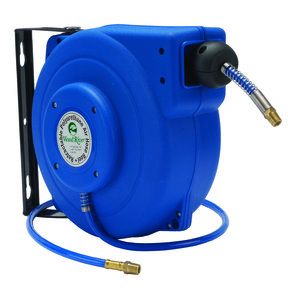 Retractable 39' Polyurethane Air Hose Reel