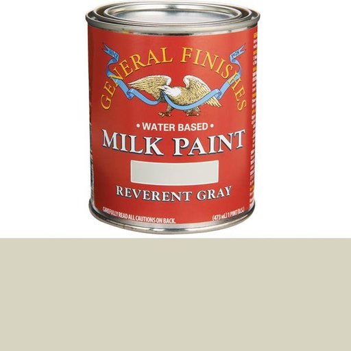 View a Larger Image of Reverent Gray Milk Paint Pint